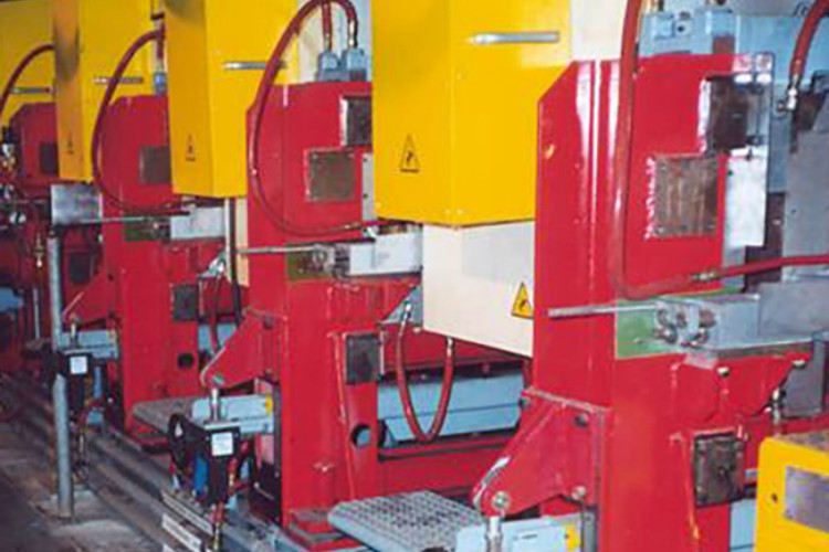 Rail Hardening Systems